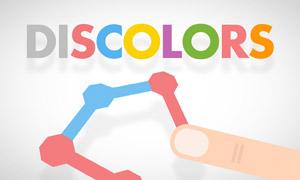 discolors